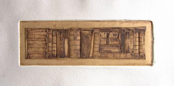 « Écrits I ». Sculpture sur papier. 110x58 cm