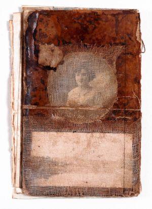 «Les souvenirs des livres XI». Techniques mixtes. 14x20 cm