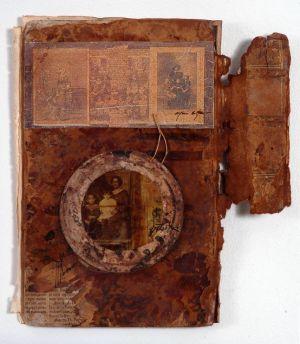 «Les souvenirs des livres VIII ». Techniques mixtes. 14x20 cm