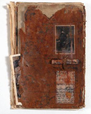 «Les souvenirs des livres XXI ». Techniques mixtes. 14x20 cm