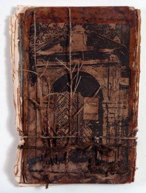«Les souvenirs des livres IV». Techniques mixtes. 14x20 cm